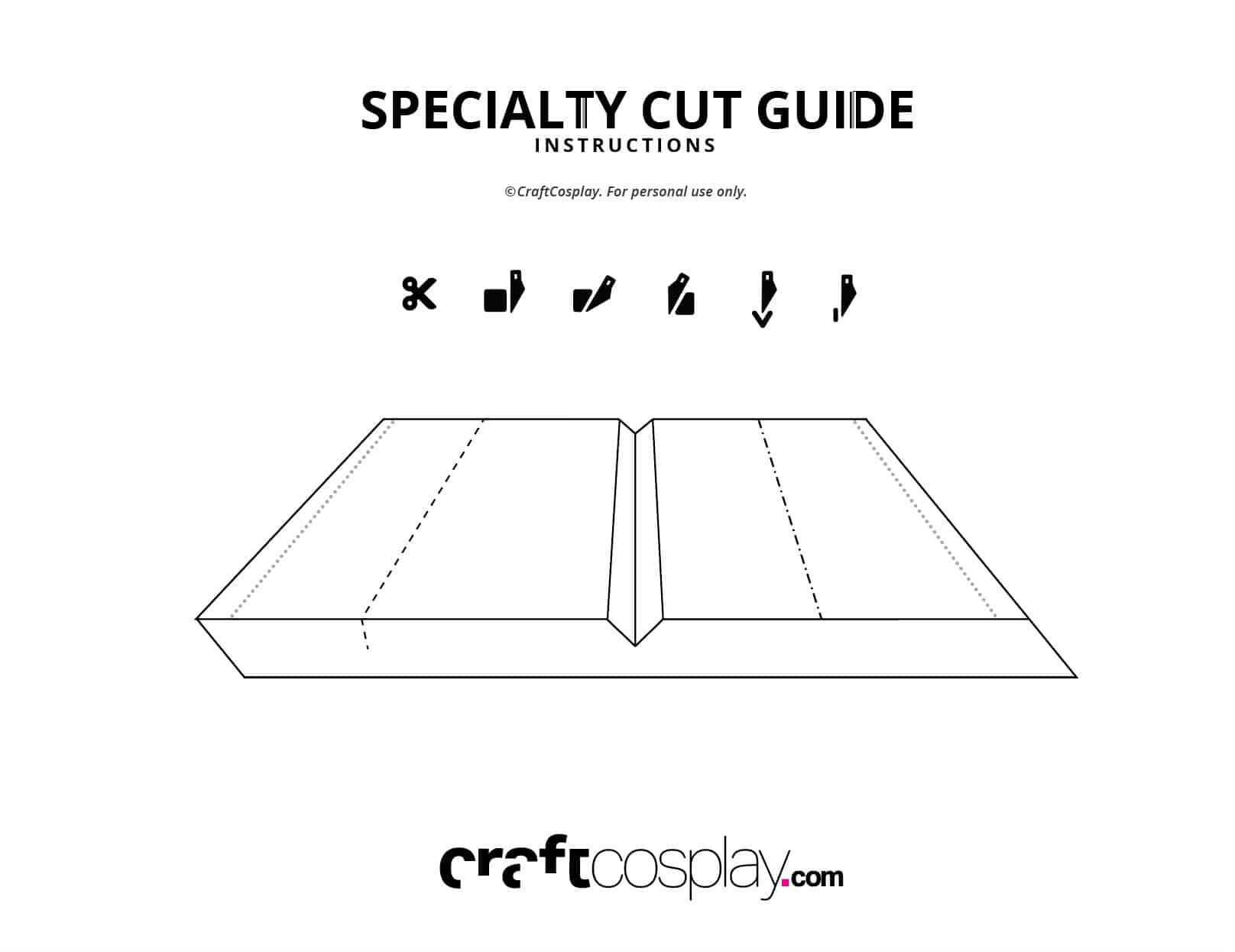CraftCosplay Specialty Cut Guide