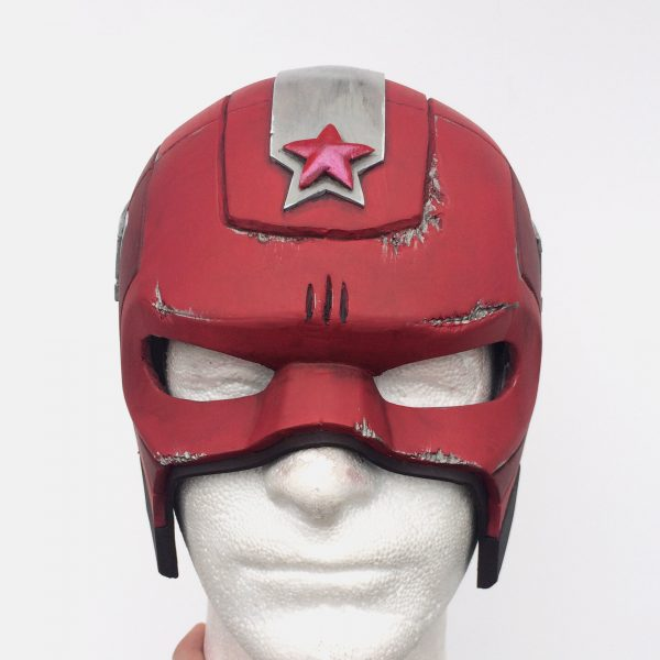 CraftCosplay Red Guardian Helmet Pattern