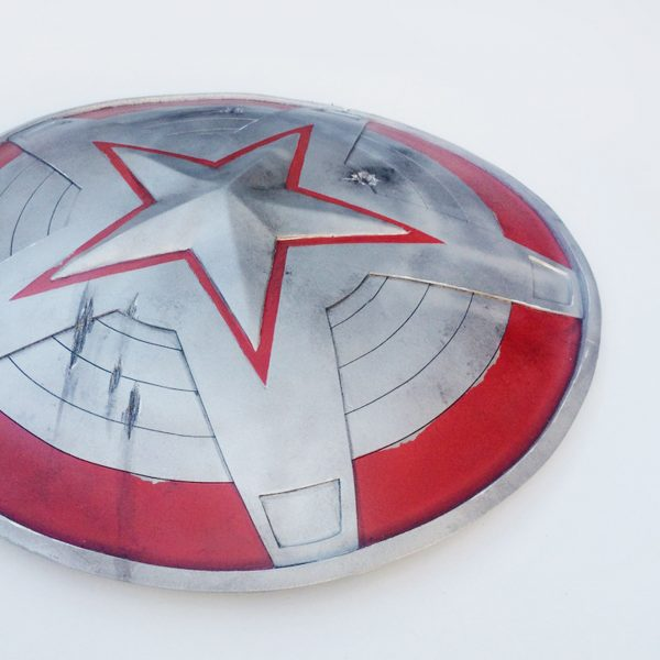 CraftCosplay Red Guardian Shield