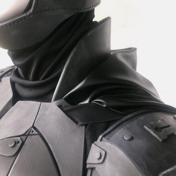 CraftCosplay The Batman 2022 Arm Shoulder Collar Armor Pattern