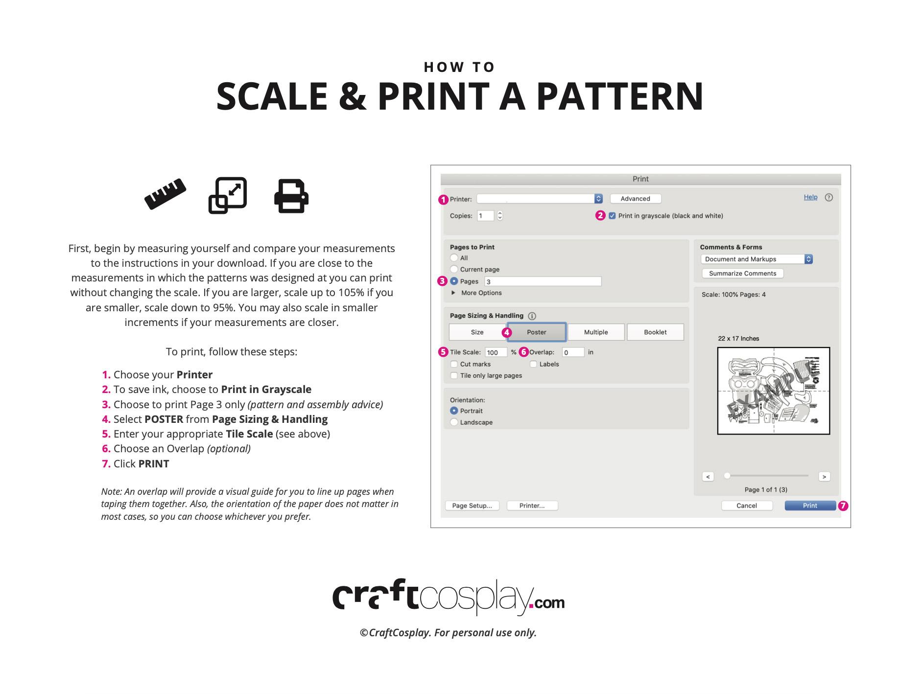 Scale & Print Guide